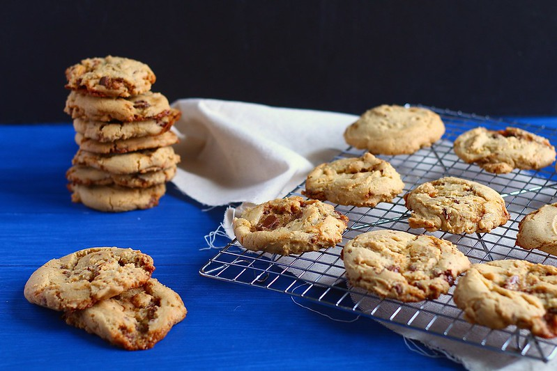 browned butter caramel cookies
