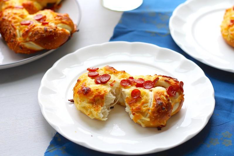Pretzel Pizza Twists
