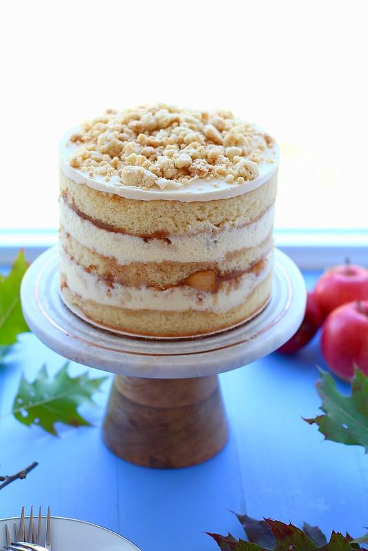 Apple Pie Layer Cake
