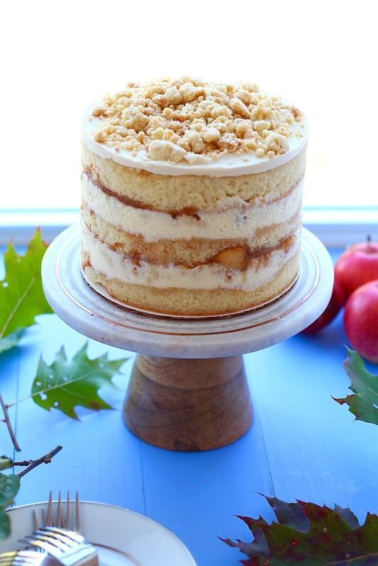 Apple Pie Layer Cake Island Bakes