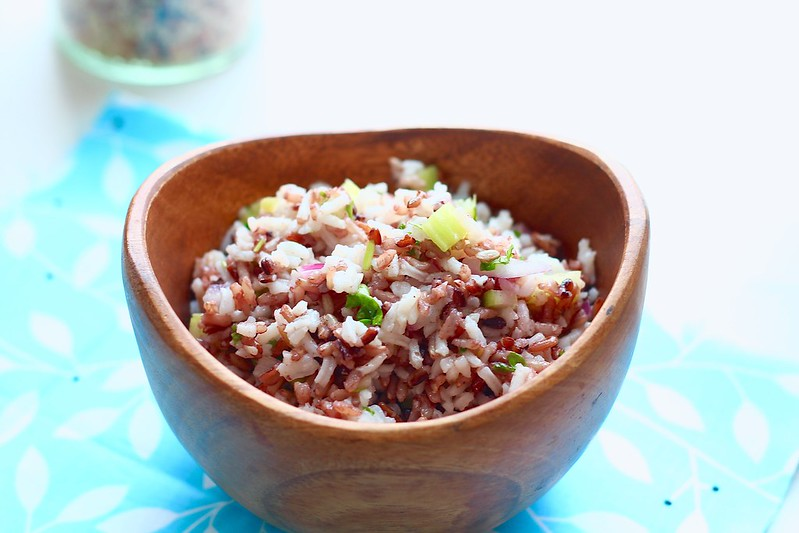 Wild and White Rice Salad