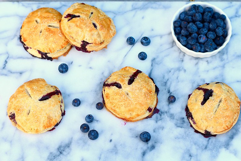 Blueberry Hand Pies