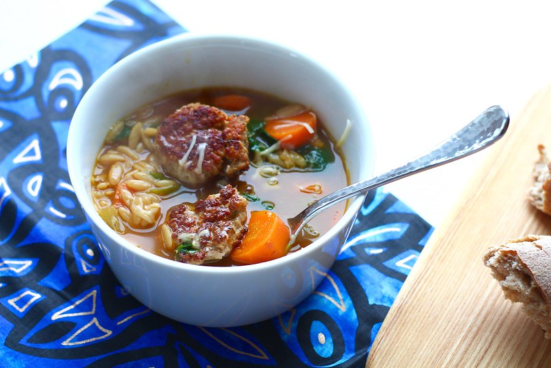Pork Meatball Soup