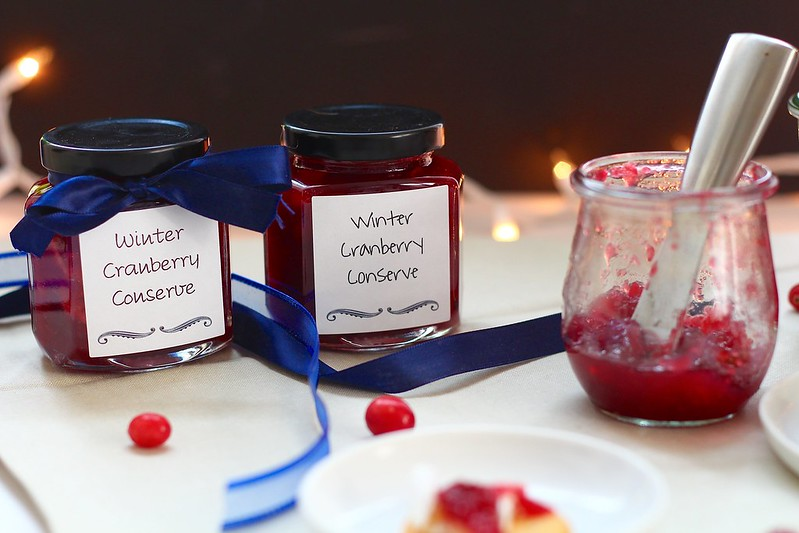 Winter Cranberry Conserve