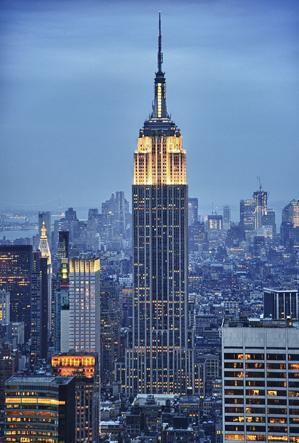 Empire State Building by CC user ekilby on Flickr