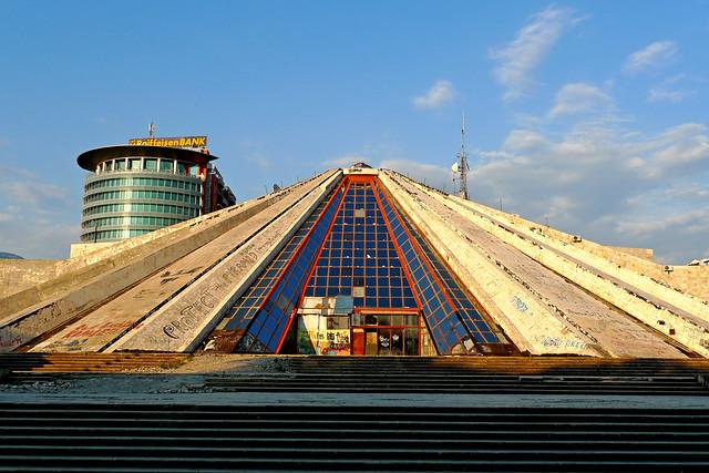 Tirana (Albania) - The Pyramide