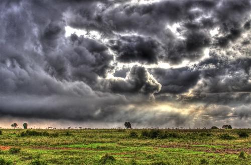 park sky storm field weather clouds brewing canon aj scary kenya ominous nairobi twist safari national swirl tornado hdr brustein 50d