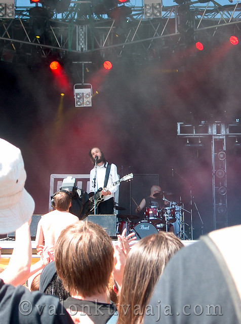 Ruisrock 2005 lauantai - YUP