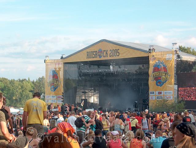 Ruisrock 2005 lauantai - CMX