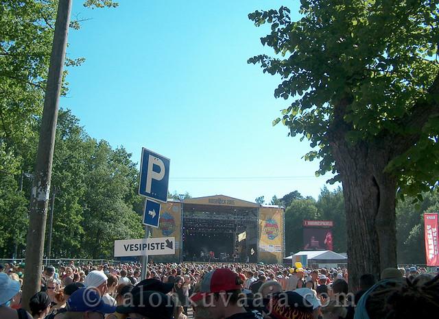 Ruisrock 2005 sunnuntai - Poets of fall