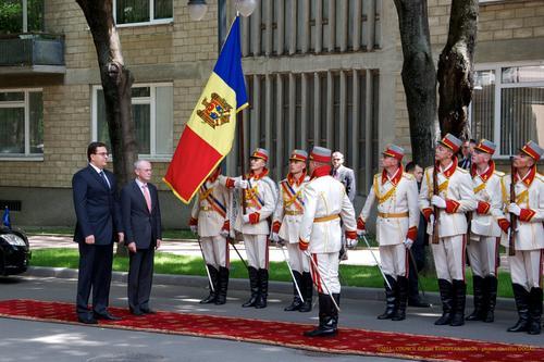 Visit president Van Rompuy to Chisinau (Republic of Moldova)