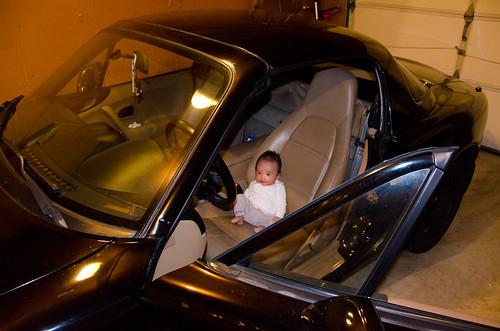 Baby Elliot's 1st Miata