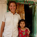 Audrey with Chakma Girl - Rangamati, Bangladesh