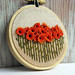 Orange Poppies Wall Decoration
