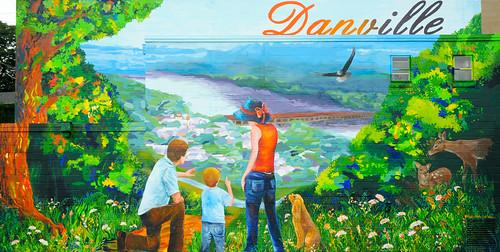 art river mural downtown danville millstreet susquehanna