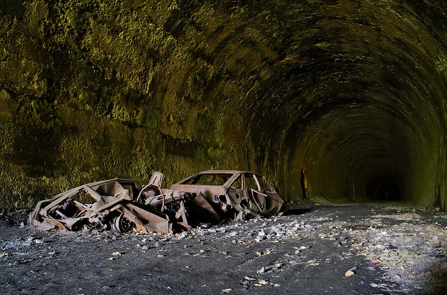 Dead Wheels - Glenfarg Railway Tunnel