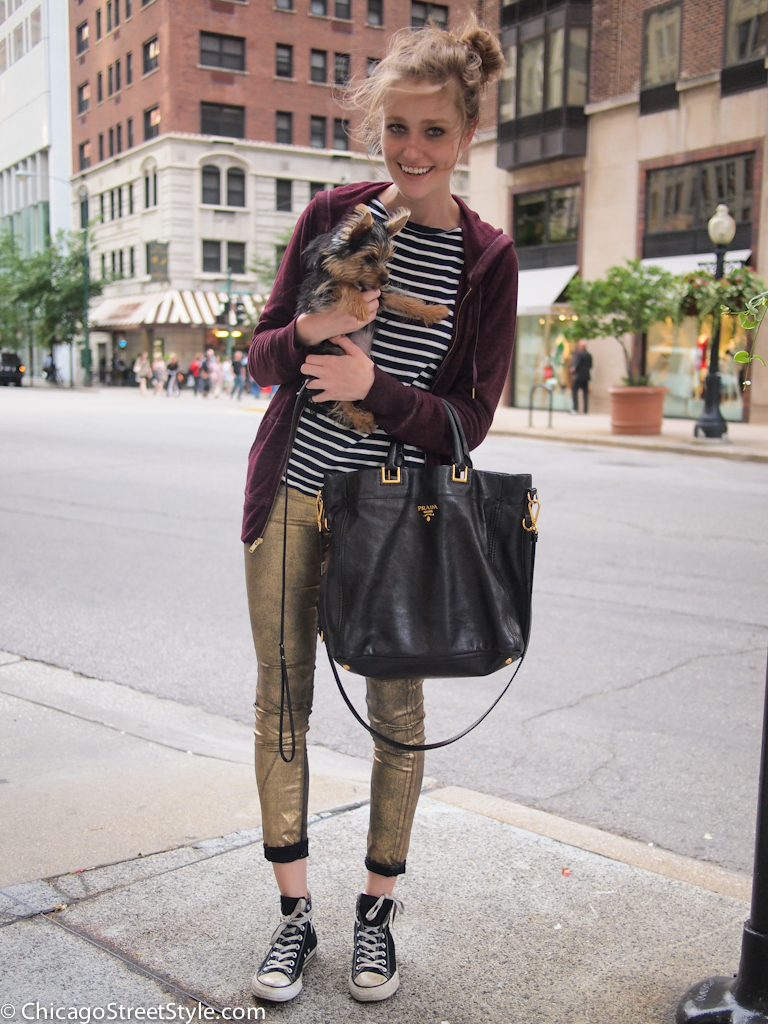 Morgan Carr Amy Creyer 39 S Chicago Street Style Fashion Blog