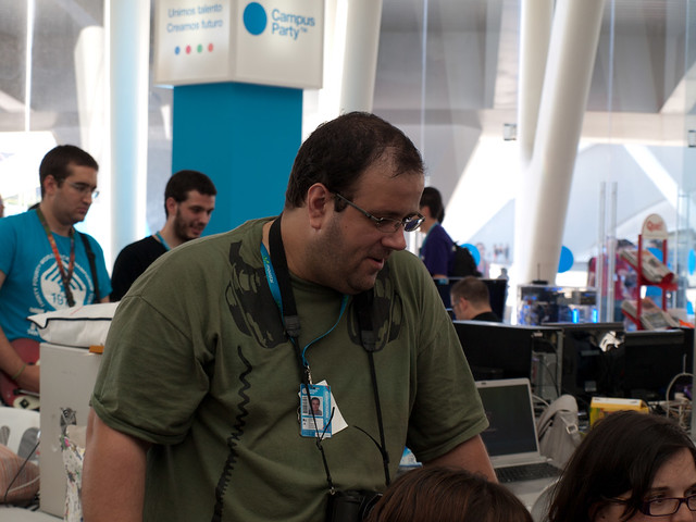 20111307 Campus Party - Miércoles 001