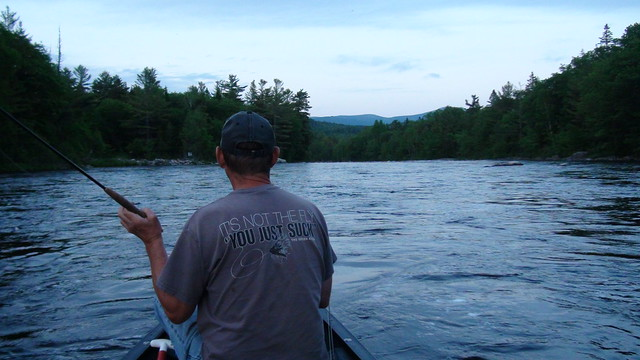 Maine fly fishing half time report maine river guides for Maine out of state fishing license