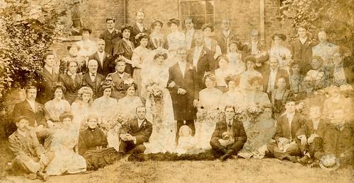 Wedding ca 1905?