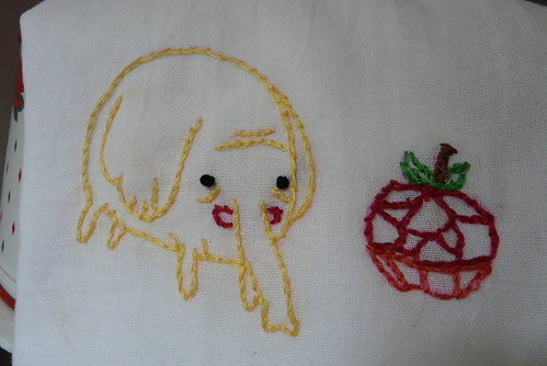 Tree Trunks Adventure Time Embroidery