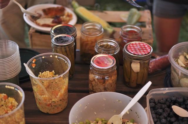 potluck pickles
