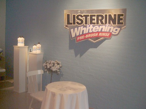 Set Designs For Listerine Product Launch