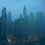 Rainstorm hits Chicago