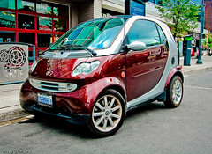 Shooting A Smart Fortwo   - Ottawa 07 11