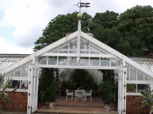 Houghton Hall - Walled Garden - Greenhouse