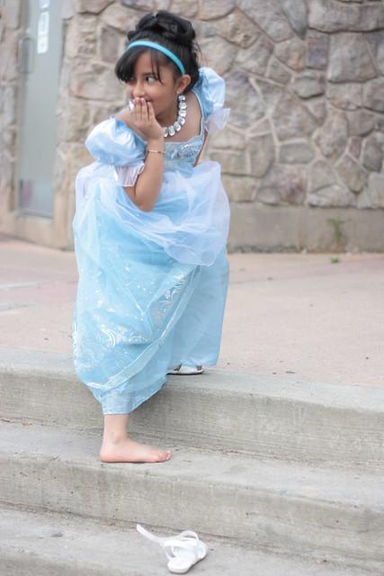 Cinderella Loses Her Shoe!