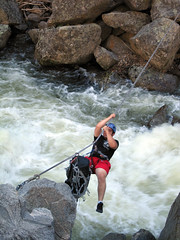 stream, adventure, rapid, river, recreation, outdoor recreation, extreme sport, rock,