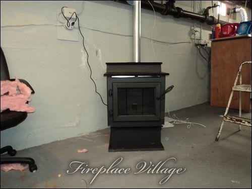 Pellet Stove Installed In Basement Explore Fireplacevillag Flickr Photo Sharing