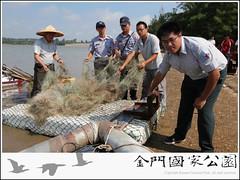 慈湖非法網具取締(2011)-01.jpg