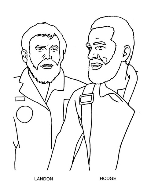 Planet of the Apes Coloring Book 0100005