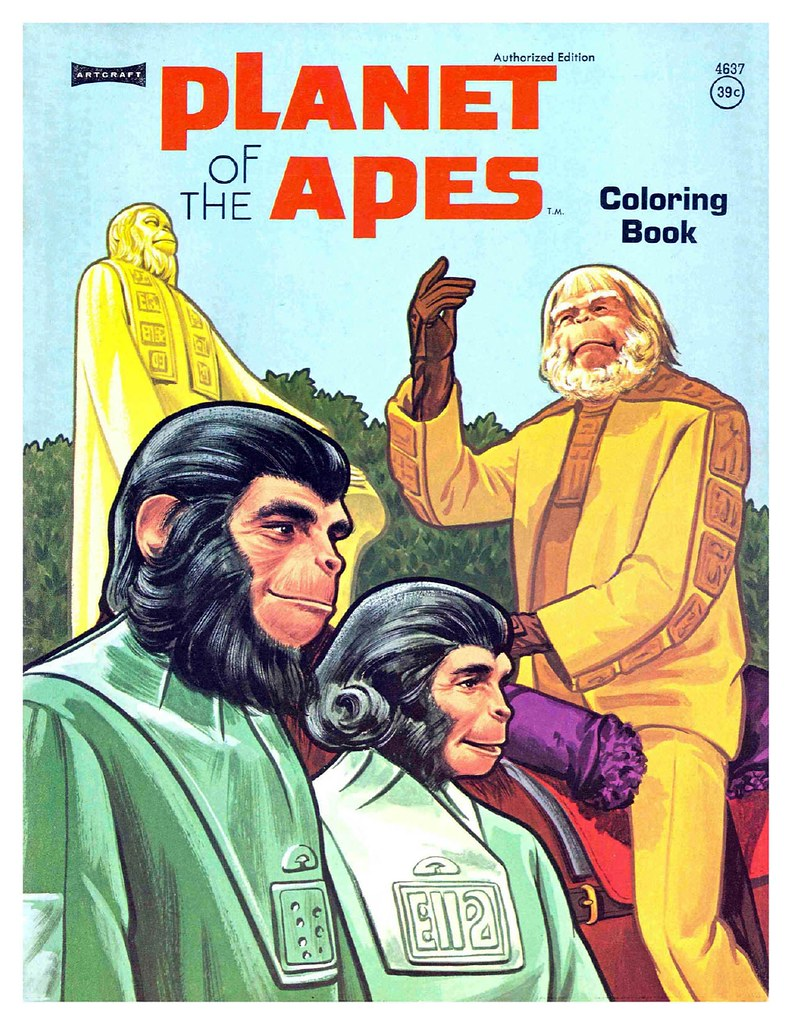 Planet of the Apes Coloring Book 0200001