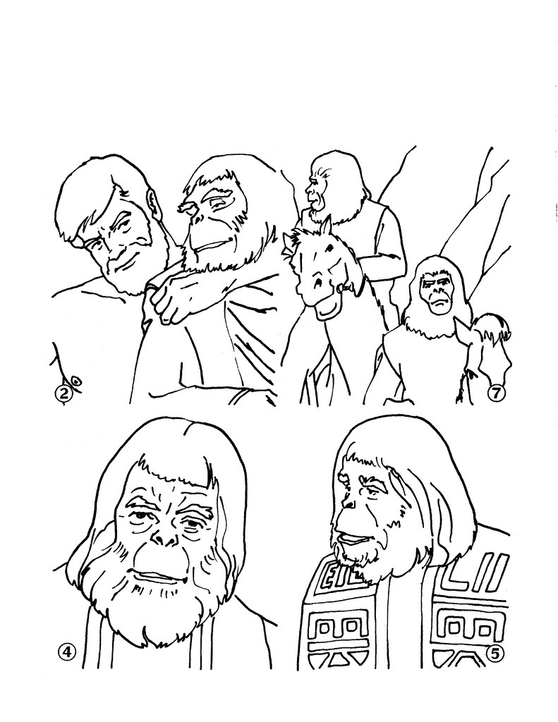 Planet of the Apes Cut & Color Book00006