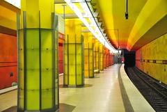 Candidplatz, metro station in munich