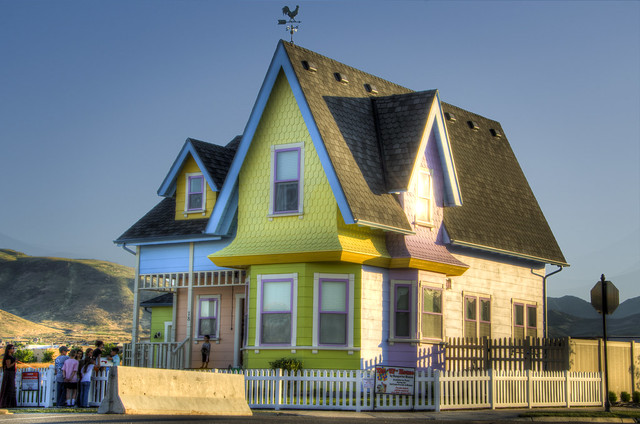 "Disney/Pixar ""UP"" House in Herriman_HDR Utah"