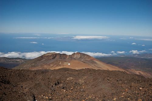 Ruta al mirador de Pico Viejo en el Teide