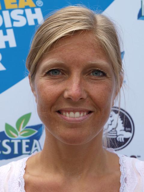 Nordic blonde mature woman