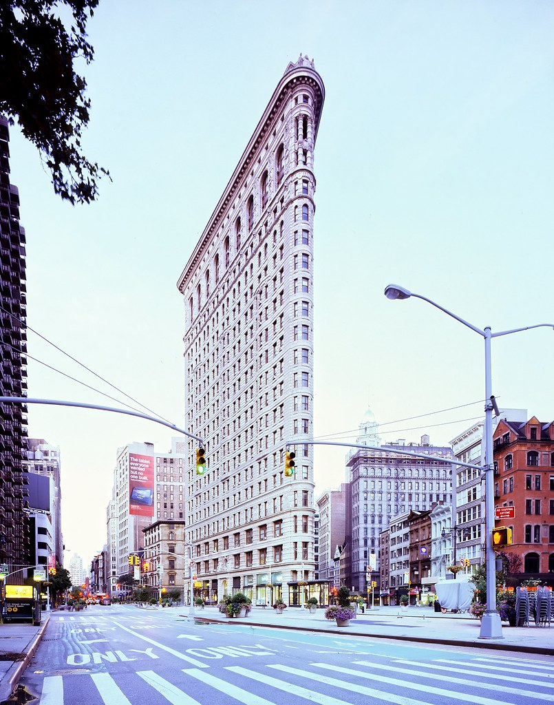 flatiron building at dawn new york city a photo on flickriver. Black Bedroom Furniture Sets. Home Design Ideas