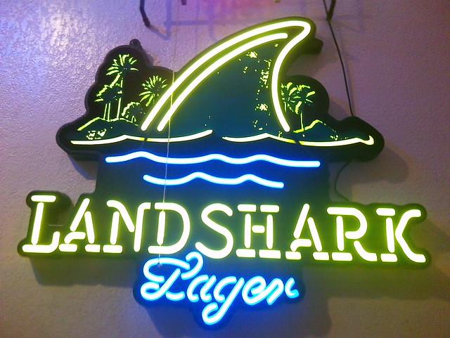 Landshark Lager Neon Sign - Photo Sharing!