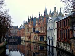Steenhouwersdijk, Bruges, Belgium