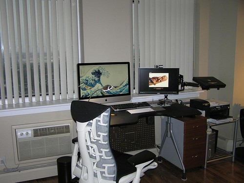 03 My decluttered, ergonomic, and healthy Workstation