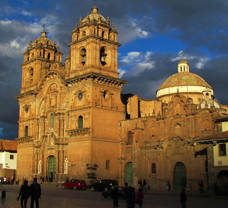 Iglesia de la Compania at Sunset