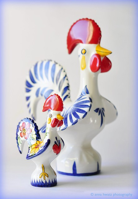 Roosters of Luck and Happiness