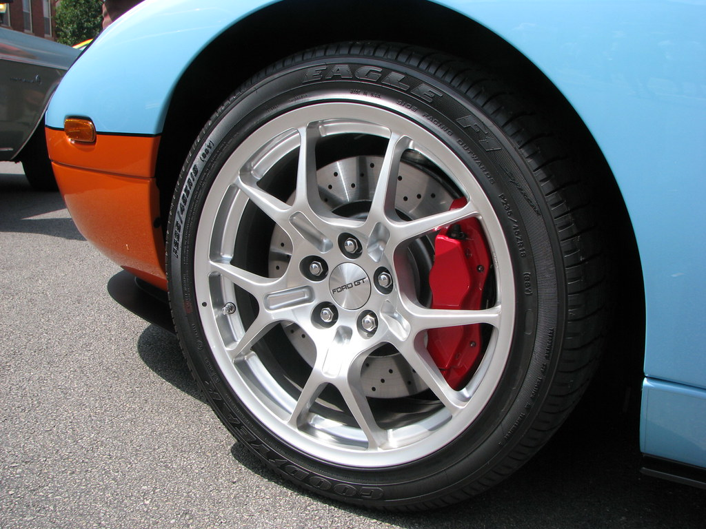 Goodyear Tires And The  Ford Gt