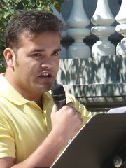 Suraj Budathoki at Love Your Neighbor Rally
