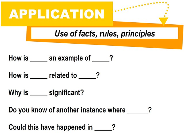 critical thinking application questions